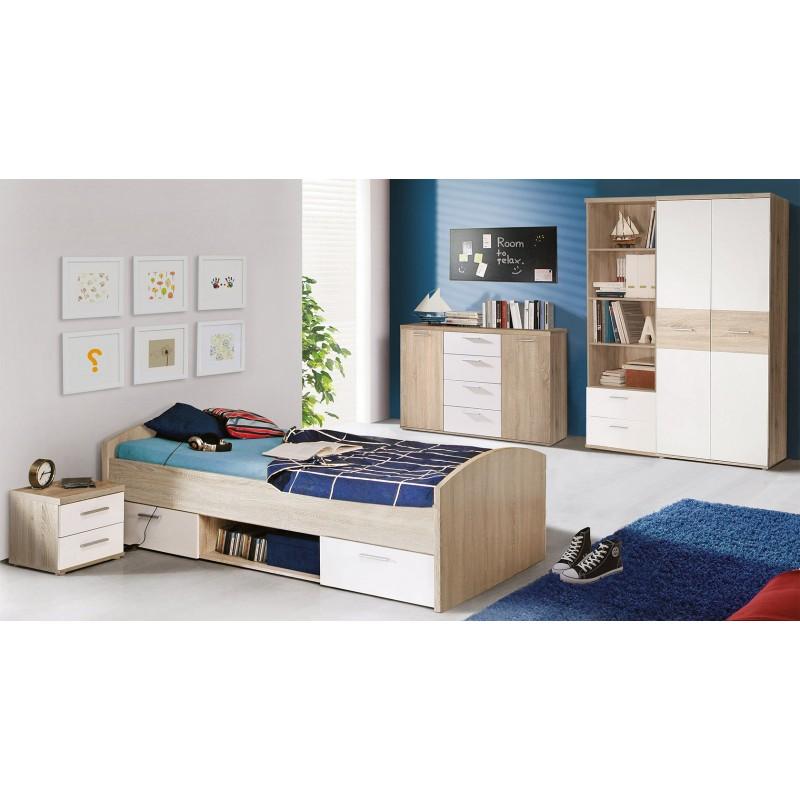 Łóżko młodzieżowe WNL09
