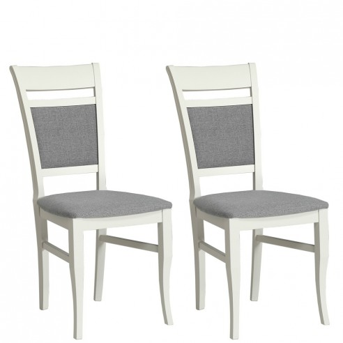 Krzesła komplet 2 szt. Kashmir Typ KR0115-D43-IN91