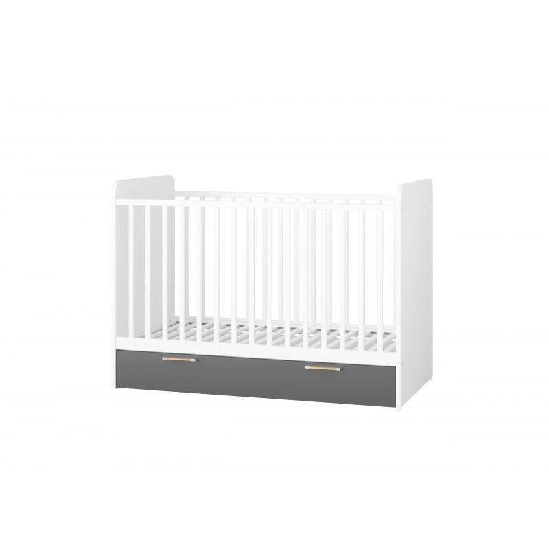 Łóżeczko dziecięce z szufladą Picolo Typ 14
