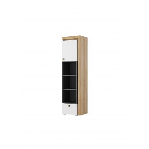 Regał 1-drzwiowy z szufladą Riva Typ 03