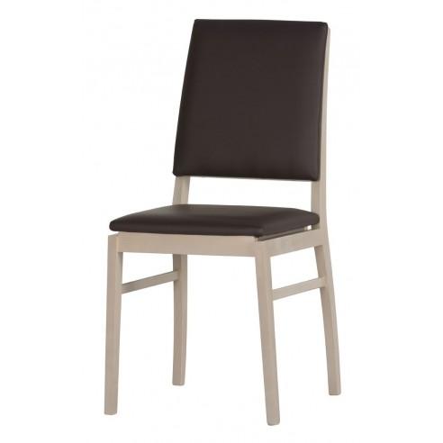 Krzesło bukowe z siedziskiem Desjo Typ 101