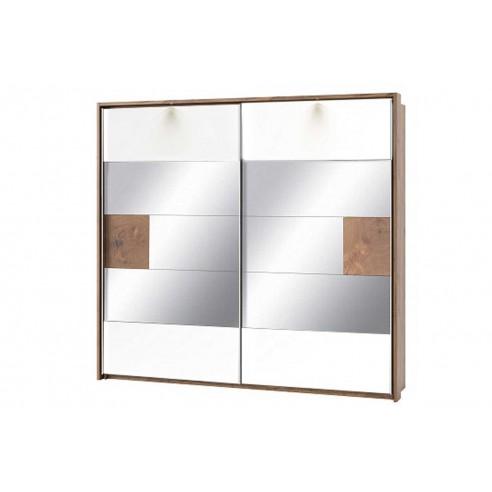 Szafa 2-drzwiowa z lustrem Livorno Typ 73