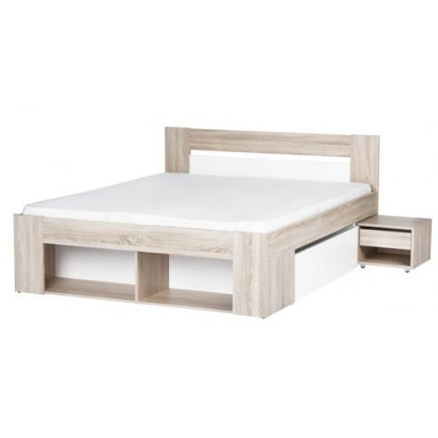 Łóżko pod materac 140x200 Milo Typ 08
