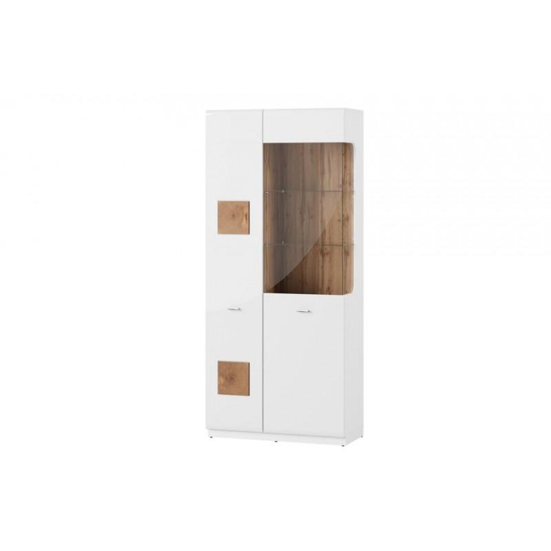 Witryna 2-drzwiowa Wood Typ 12