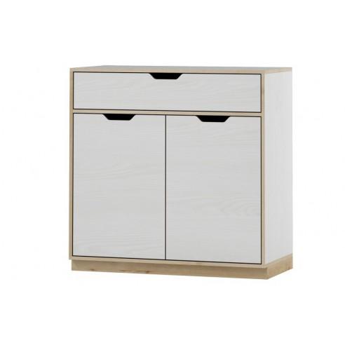 Komoda 2 - drzwiowa z 1 szufladą Happy Typ 10