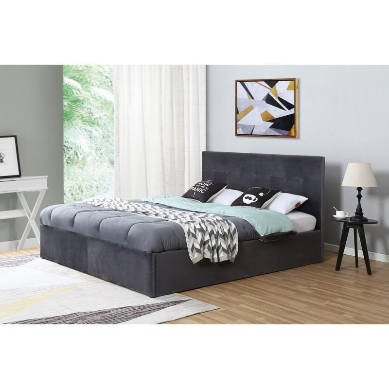 Łóżko tapicerowane Fox 160x200