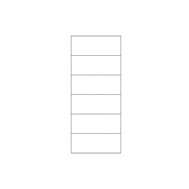 Witryna 2-drzwiowa lewa Velvet Typ 10 Szynaka Meble Kolekcja