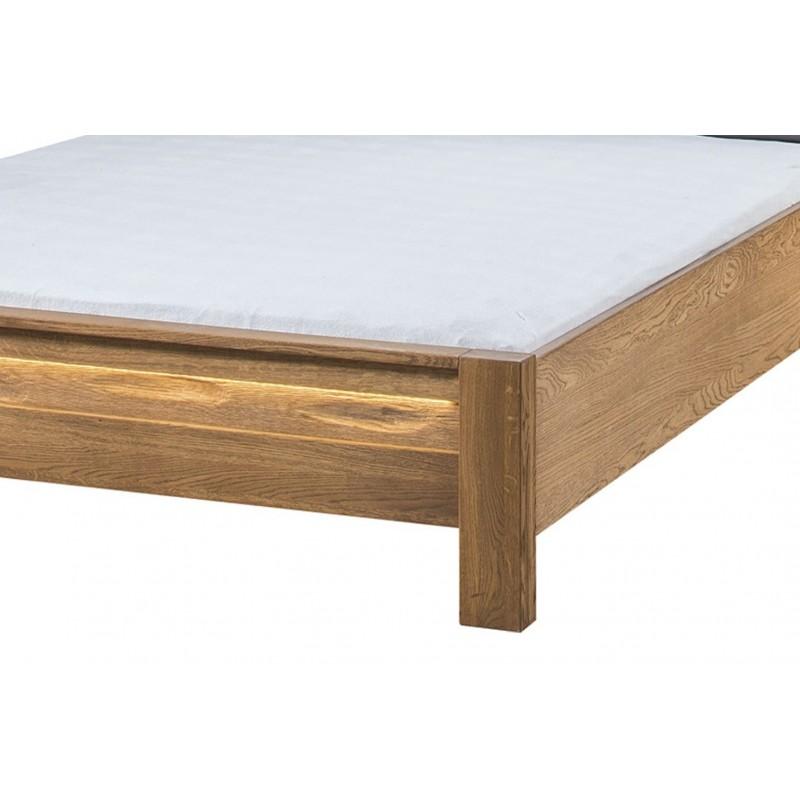 Łóżko pod materac 160x200 Velvet Typ 76 Szynaka Meble Kolekcja