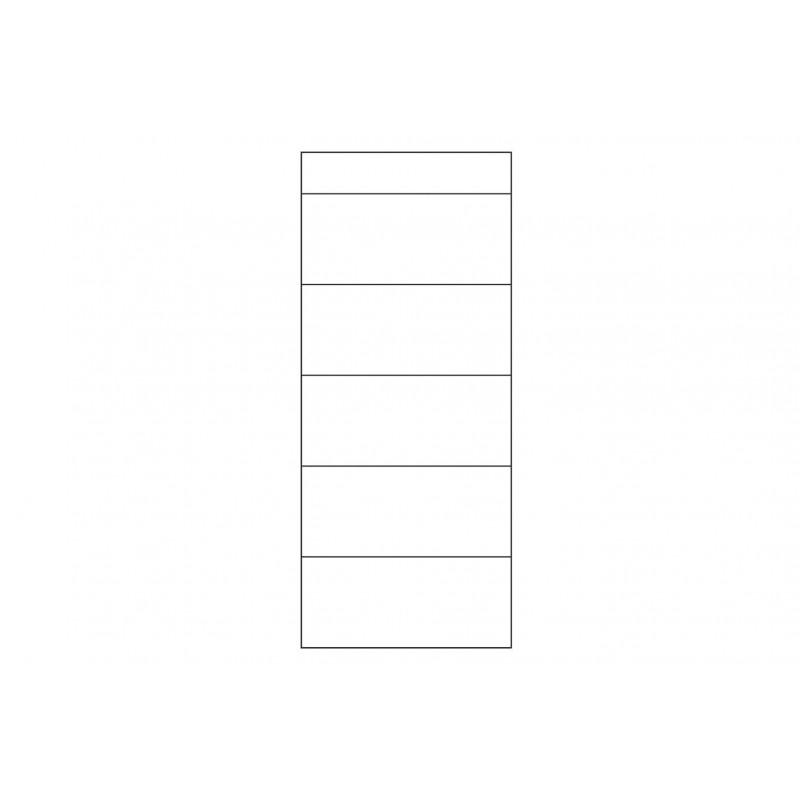 Witryna 2-drzwiowa prawa Porti Typ 11 Szynaka Meble Kolekcja