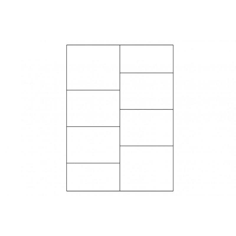 Witryna 2-drzwiowa lewa Porti Typ 15 Szynaka Meble Kolekcja