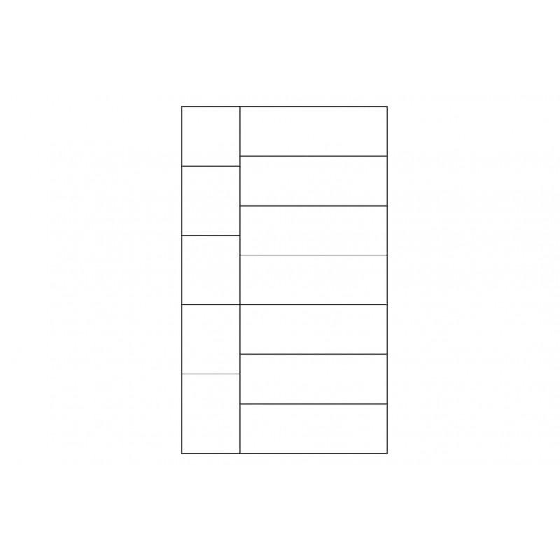 Witryna wysoka Velle Typ 12 Szynaka Meble Kolekcja Velle