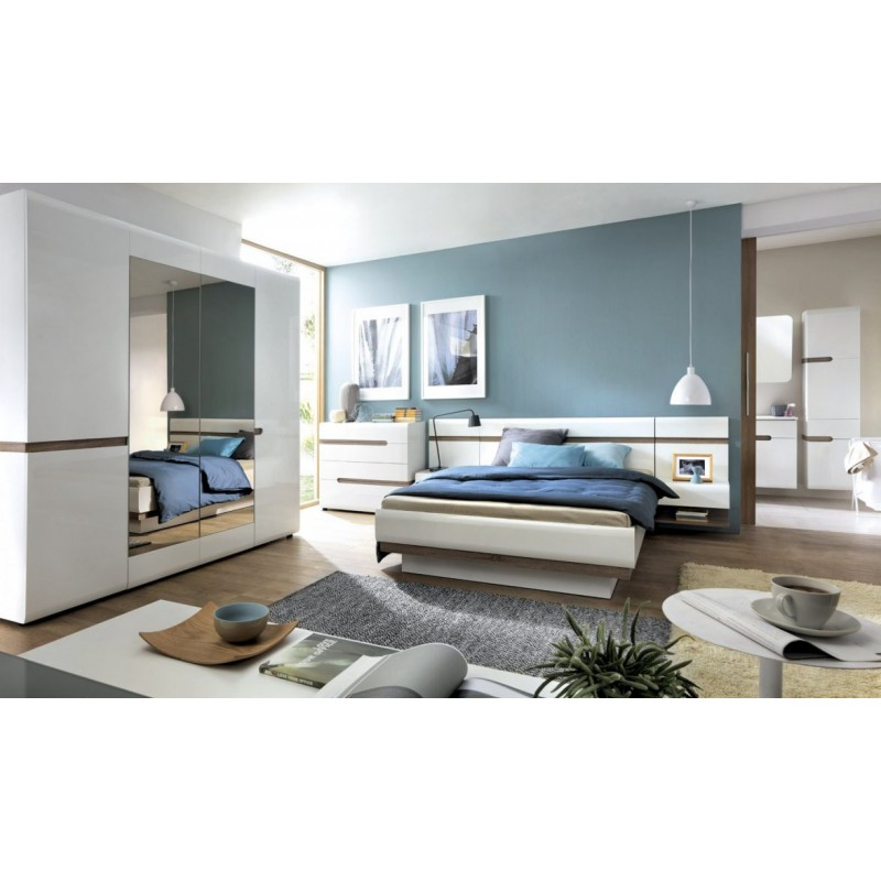 Łóżko 180 Linate Typ 93 Meble Wójcik Kolekcja Linate