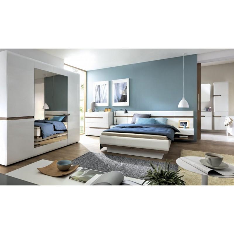Łóżko 160 Linate Typ 92 Meble Wójcik Kolekcja Linate