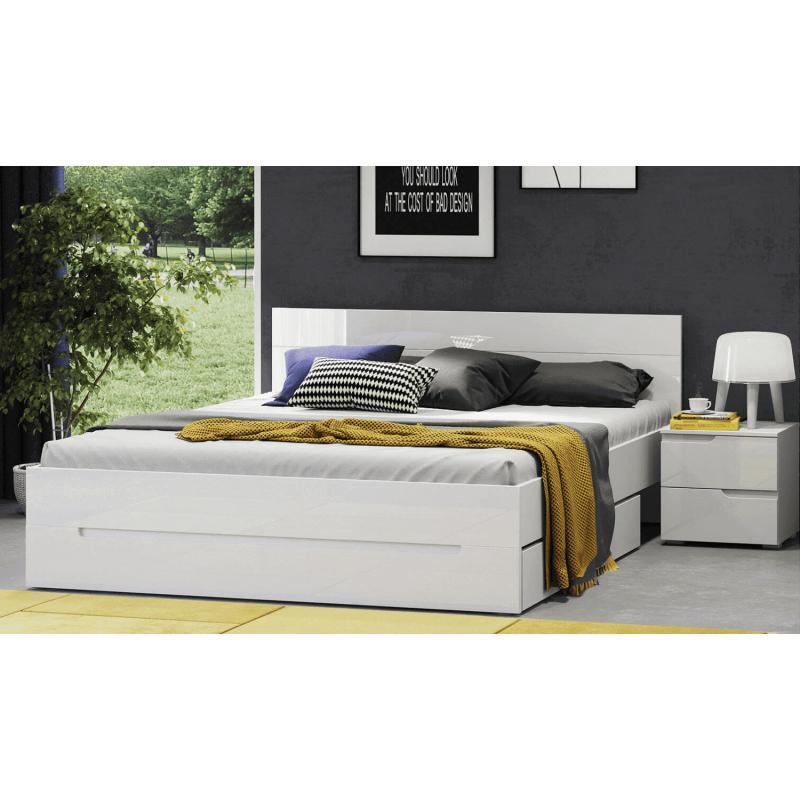 Łóżko pod materac Selene Typ 33 Szynaka Meble Kolekcja Selene