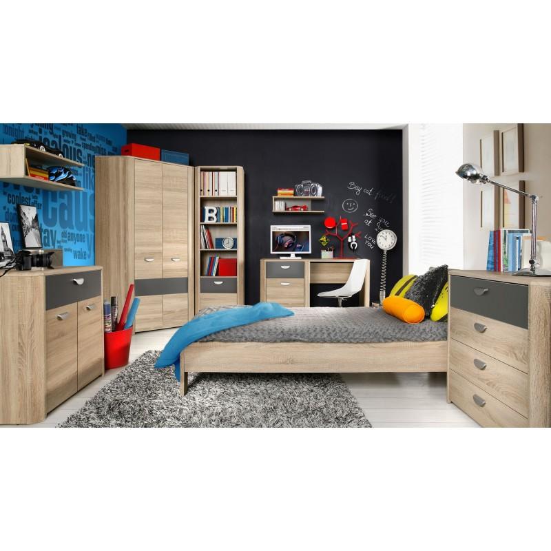 Łóżko młodzieżowe Yoop YPL09 Meble Forte Kolekcja Yoop