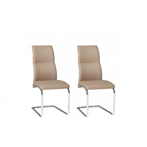 Krzesła JUMP komplet 2 szt. KR0079-MET-DCP