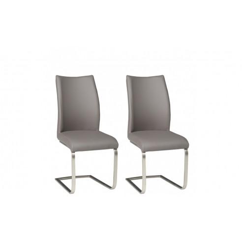 Krzesła LIGURIA komplet 2 szt. KR0080-MET-U02GR