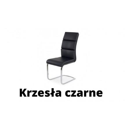 Krzesła czarne