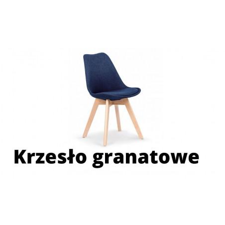 Krzesło granatowe