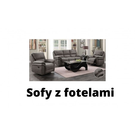 Sofy z fotelami