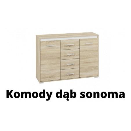 Komody dąb sonoma