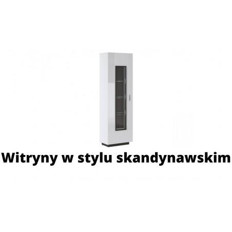 Witryny w stylu skandynawskim